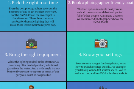 6 Tips for Photographing the Na Pali Coast [Infographic] Infographic