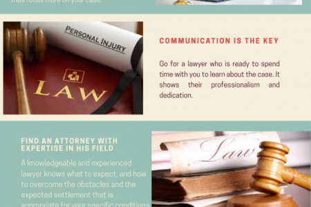 6 Tips To Consider For Hiring A Personal Injury Attorney Infographic