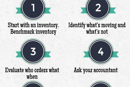 6 Tips to Improve Inventory Management Infographic
