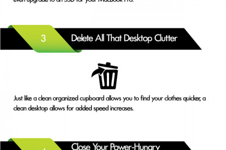 6 Tips To Speed Up Your Macbook Infographic