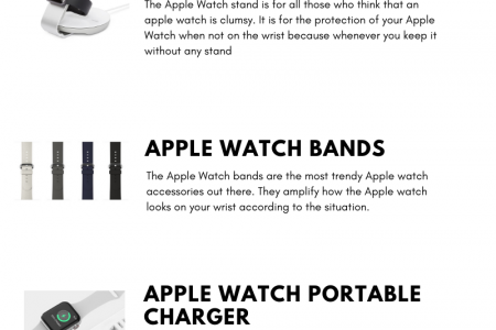 6 Trendy Apple Watch Accessories You Can't Miss Infographic
