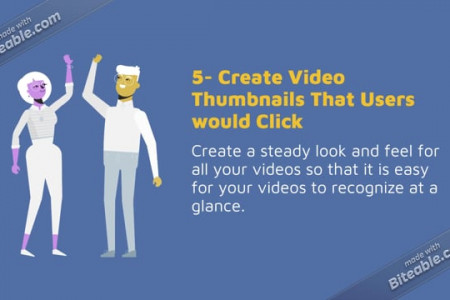 6 Ways To Be A Successful YouTuber Infographic