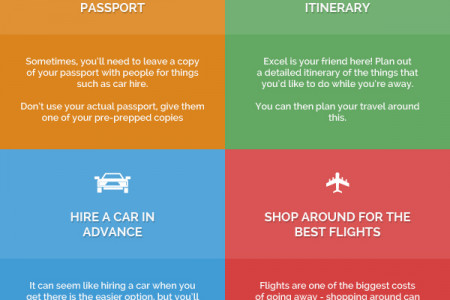 6 Ways To Simplify Your Travels Infographic