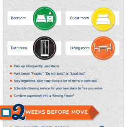 Week Checklist For Moving Into Your New Apartment Visual Ly