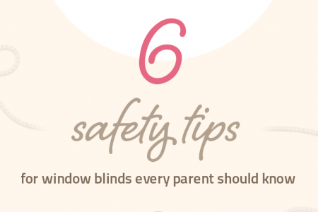 6 Window Blinds Safety Tips Every Parent Should Know Infographic