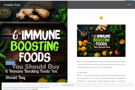6 Immune Boosting Foods You Should Buy Infographic
