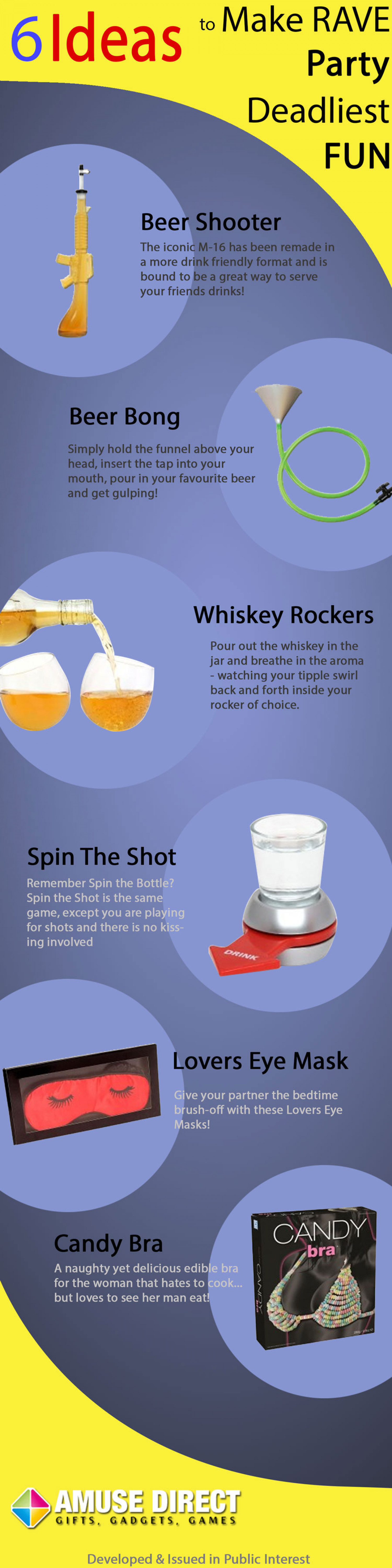 6-Ideas-to-Make-RAVE-Party-Deadliest-FUN Infographic