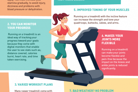 7 Benefits of Running on a Treadmill Infographic