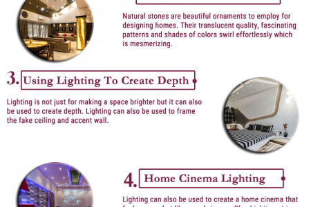 7 Bright Ideas To Light Up Your Home Infographic