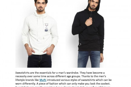 7 Cools Ways to Wear Sweatshirt this Winter Infographic