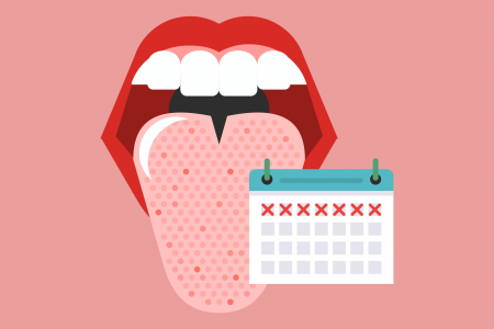7 Facts You Didn't Know About Your Tongue Infographic
