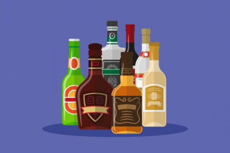 7 Famous Spirits of Alcohol you should try once in lifetime Infographic