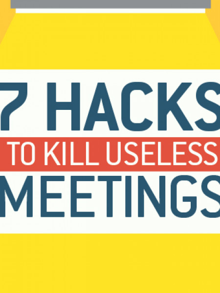 7 Hacks to Kill Useless Meetings Infographic