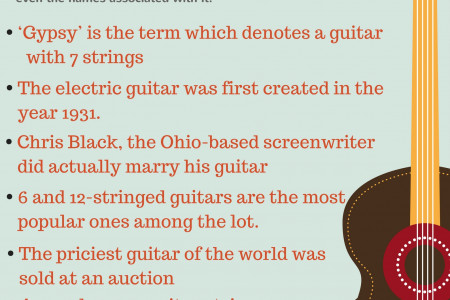 7 Interesting Guitar Facts Infographic
