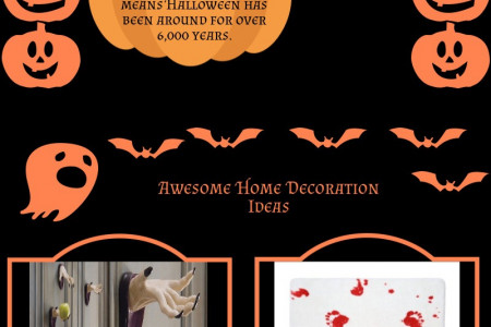 7 Little Known Fun Facts About Halloween Infographic