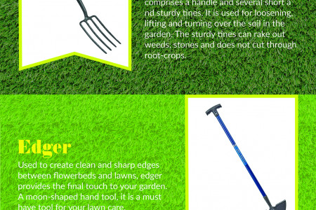 7 Must Have Tools For Your Lawn Infographic
