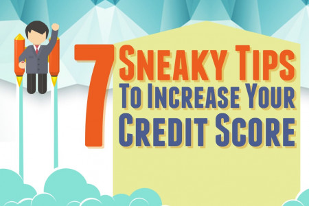 7 Quick Ways To Improve Your Credit Score Infographic