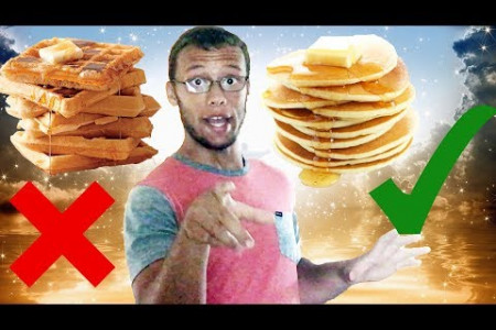 7 Reasons Pancakes Are Better Than Waffles Infographic