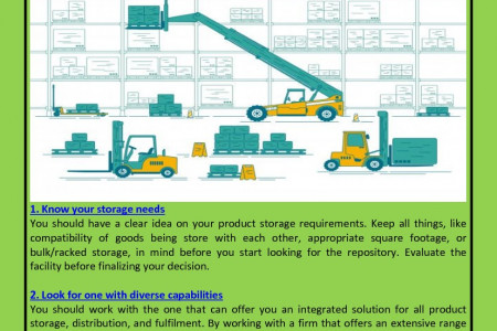 7 Simple Tips To Choose Ideal Warehousing Services For Your Business Infographic