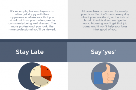 7 Simple Ways To Impress Your Boss Infographic