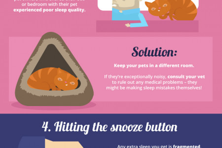 7 Sleep Mistakes You Don't Know You're Making and How to Fix Them Infographic
