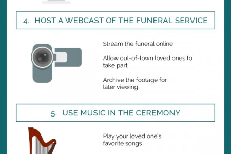 7 Strategies for Honoring Your Loved One Infographic