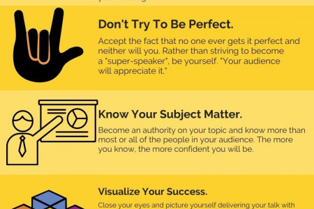 7 Super fire tips to overcome presentation anxiety. Infographic
