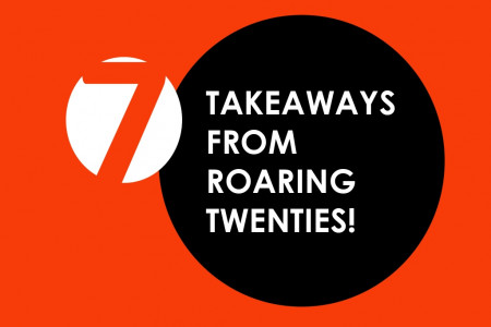 7 Takeaways From Roaring Twenties Infographic