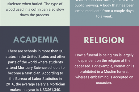 7 things about the Funeral industry you had no idea about Infographic