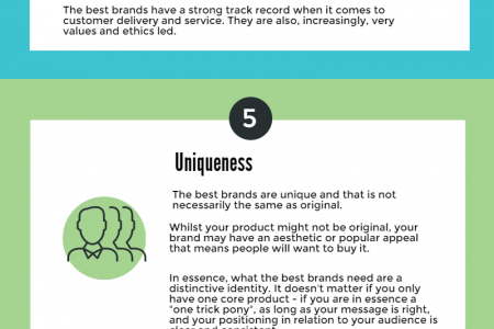 7 things that have defined successful brands  Infographic