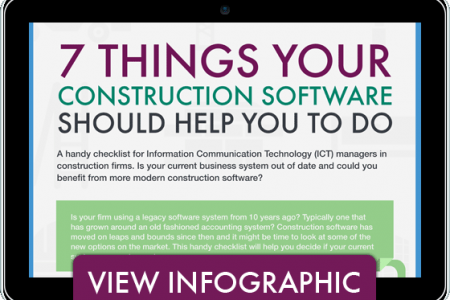 7 Things your Construction Software Should Help You To Do Infographic