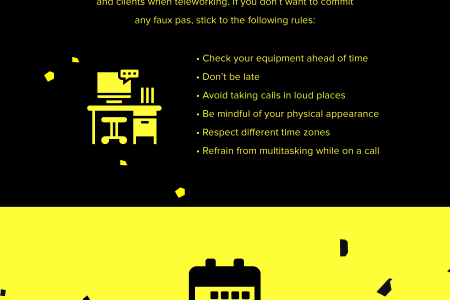 7 tips for improving remote work at a creative software house Infographic