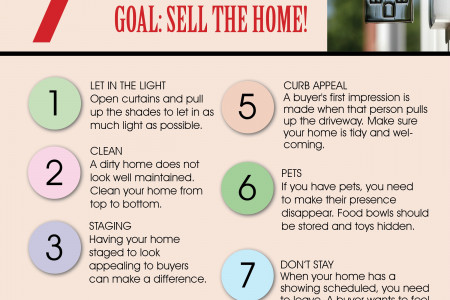 7 Tips to Get Your Home Prepared for Showings When Selling It Infographic