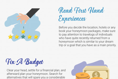 7 Top Tips to Plan the Most Romantic Honeymoon of your Dreams!  Infographic