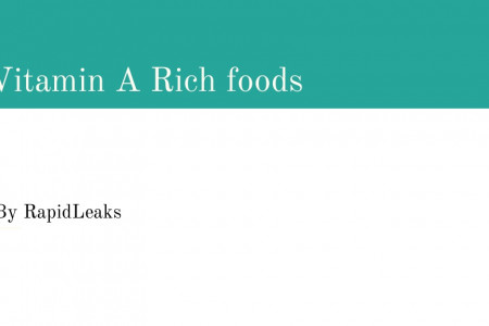 7 Topmost Vitamin A Rich Foods   Infographic