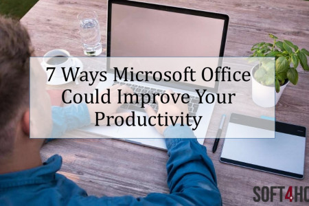 7 Ways Microsoft Office Could Improve Your Productivity Infographic