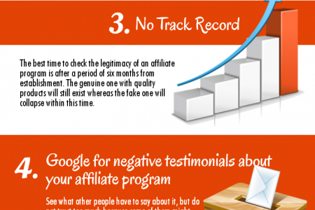 7 Ways to Identify Affiliate Program Scams Infographic
