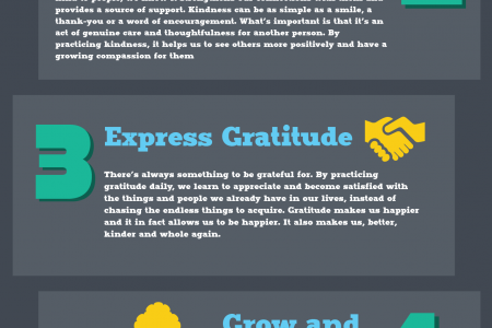 7 Ways to Live a More Fulfulling Life Today Infographic