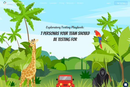7 User Personas for Exploratory Testing Infographic