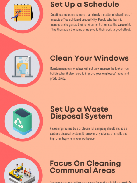 7 Ways to Improve Workplace Hygiene and Employee Health Infographic