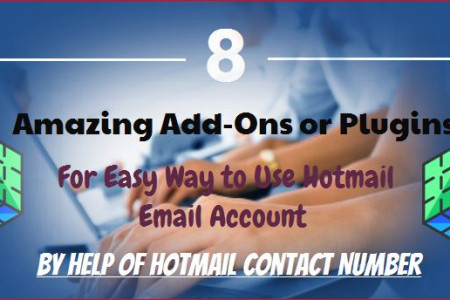 8 Add-Ons for Easy to Use Hotmail Email Account  Infographic