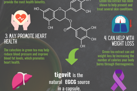 8 benefits of EGCG (epigallocatechin-3-gallate) that you should know about Infographic