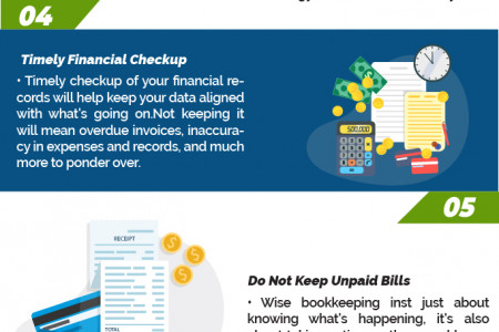 8 Bookkeeping Tips That Small Business Owners Will Benefit From Infographic