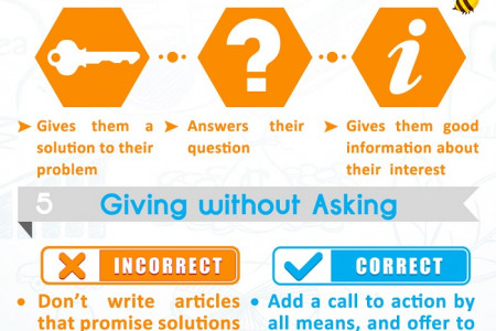 8 Hallmarks of Great Content Infographic