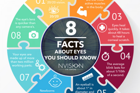 8 Interesting Eye Facts You Should Know! Infographic