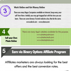 8 Popular Ways To Earn Money Via Internet Easily Visual Ly