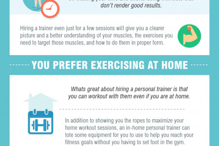 8 Reasons to Work With a Personal Trainer (Infographic) Infographic