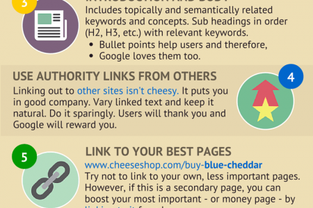 8 Steps to Optimise Any Page for Google Infographic