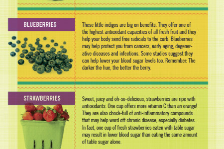 8 Surprising Facts about Fruit and Veggies Infographic