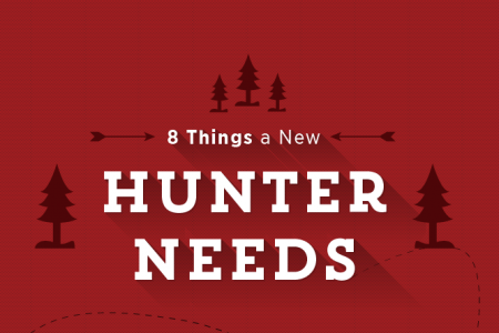 8 Things a New Hunter Needs Infographic